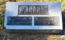 Bessie Evelyn <I>McComas</I> Allen