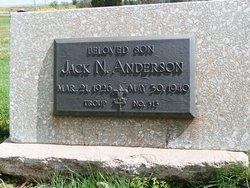 Jack N Anderson