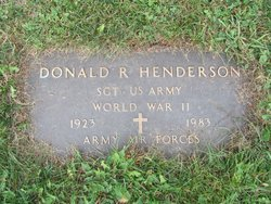 Donald Roy Henderson