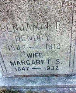 Margaret Susan <I>Epperson</I> Hendry