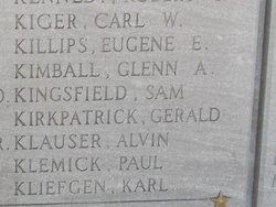 Pvt Paul Klemick