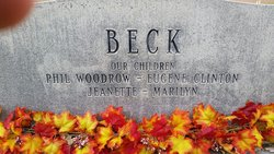 Gertrude <I>Edwards</I> Beck