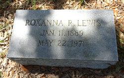 Roxanna R. <I>Lewis</I> Rumley