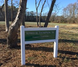 Alfred Moore Thompson Family Cemetery