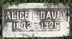 Alice <I>Lucas</I> Davey