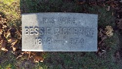 Bessie <I>Pickering</I> Burdick