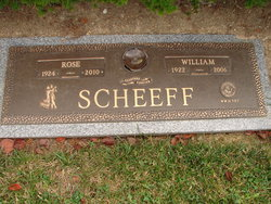 """William J """"Bill"""" Scheeff"""