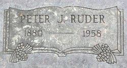 Rev Peter James Ruder