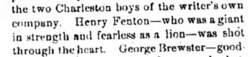 Pvt Henry Fenton