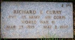 Richard E Curry