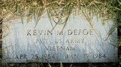 Kevin M Defoe