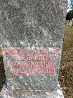 Nancy Jane <I>Franklin</I> Barritt