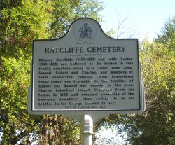 Ratcliffe Family Cemetery