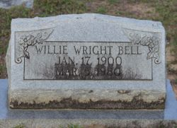 Willie <I>Wright</I> Bell