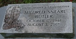"Mildred ""Mill"" <I>Snearl</I> Butler"