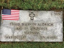 Thad Marvin Aldrich