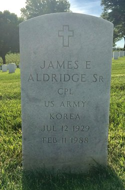James E Aldridge, Sr