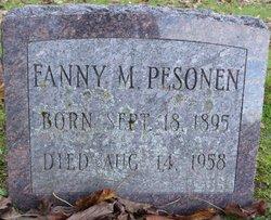 Fanny M Pesonen
