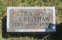 Petra A <I>Mortensen</I> Greishaw