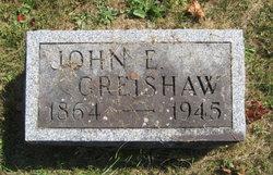 John E Greishaw
