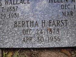 Bertha Sara <I>Heller</I> Farst
