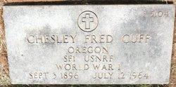 Chesley Fred Cuff