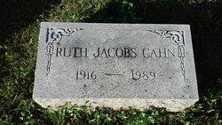 Ruth <I>Jacobs</I> Cahn