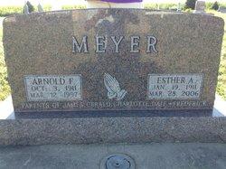 Esther Alma Marie <I>Blobaum</I> Meyer