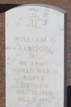 William G Allison