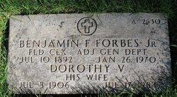 Dorothy V Forbes