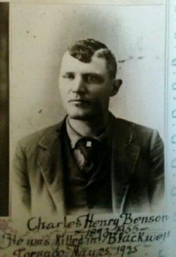 Charles H Benson