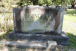 Mary Gibbs <I>Ramsey</I> Arrington