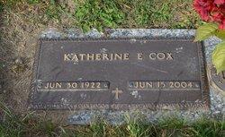 Katherine E. <I>Smeltzer</I> Cox