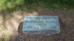 """Bronislawa """"Bertha"""" <I>Rodzewicz</I> Alicka"""