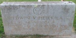Edwin V Heikkila