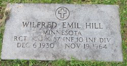 Wilfred Emil Hill