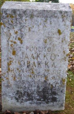 Jaakko Obakka