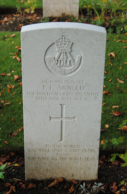 Pvt Peter Lonsdale Arnold