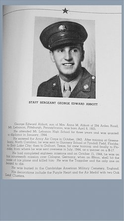 SSGT George Edward Abbott