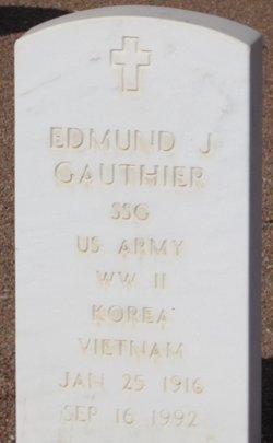 Edmund J Gauthier