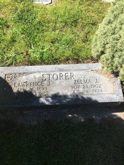 Zelma Juliette <I>Johnson</I> Storer
