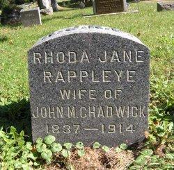 Rhoda Jane <I>Rappleye</I> Chadwick