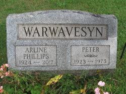 Arline <I>Phillips Warwavesyn</I> Miller