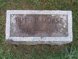 Ruth <I>Riehlman</I> Morse