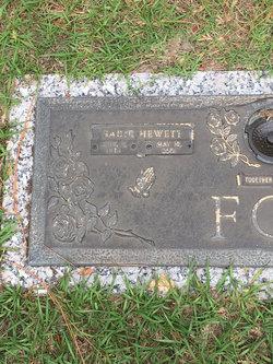 Sadie Elizabeth <I>Hewett</I> Foy