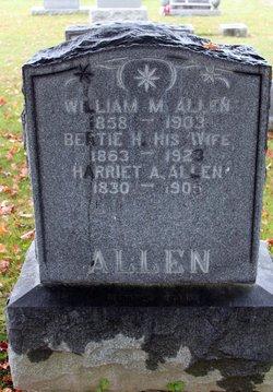 """Albertine """"Bertie"""" <I>Hunter</I> Allen"""
