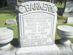 """Sarah R """"Sally"""" <I>Ludy</I> Barker"""