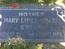 Mary Luella <I>Chase</I> Straw