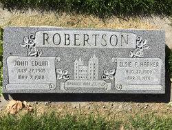 Elsie Fern <I>Harker</I> Robertson