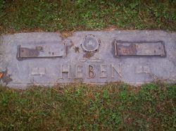 Anna <I>Sholtis</I> Heben